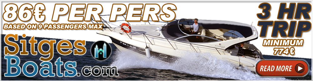 Sitges boat hire charter